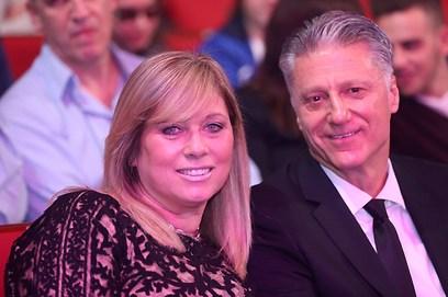 מיקי ברקוביץ ואשתו שלי (צילום: ראובן שוורץ) (צילום: ראובן שוורץ)