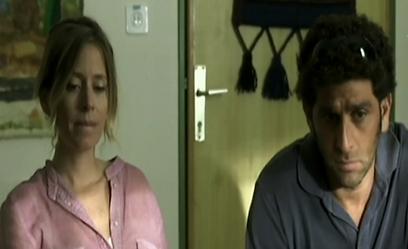 """יוסי מרשק ועלמה זק ב""""פלפלים צהובים"""" (צילום מסך) (צילום מסך)"""
