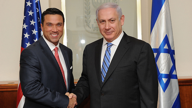 Michael Grimm and Benjamin Netanyahu (Photo:Flickr) (Michael Grimm and Benjamin Netanyahu (Photo:Flickr))