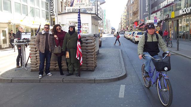 צ'ק פוינט צ'רלי בברלין  (צילום: זיו ריינשטיין) (צילום: זיו ריינשטיין)
