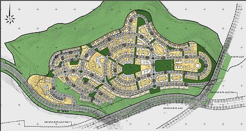 תוכנית פיתוח שכונת מורשת (הדמיה: רשות מקרקעי ישראל) (הדמיה: רשות מקרקעי ישראל)