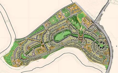 תוכנית פיתוח שכונת נופים (הדמיה: רשות מקרקעי ישראל) (הדמיה: רשות מקרקעי ישראל)