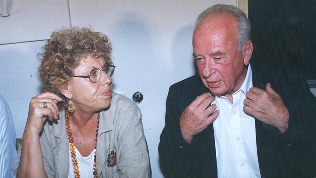 עם יצחק רבין. שתי קדנציות משותפות (צילום: צביקה טישלר) (צילום: צביקה טישלר)