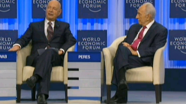 Peres in Davos