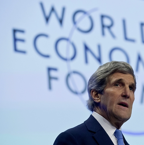 US Secretary of State John Kerry at Davos (Photo: AP)