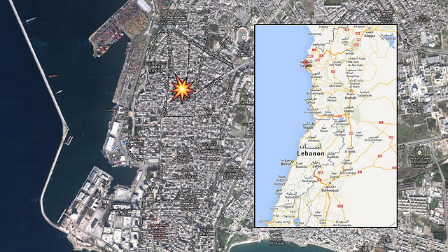 The site of the blast (Photo: Google Maps)