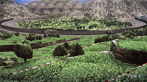 Battir Separation Fence (Simulation)