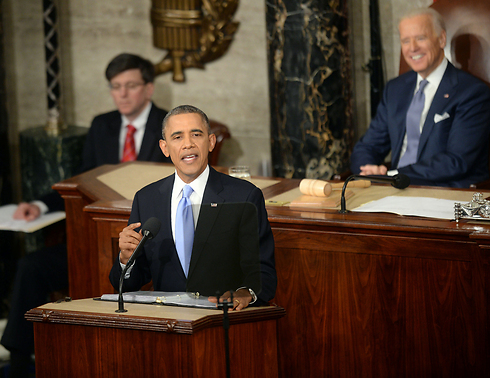 Obama delivers state of the union address (Photo: MCT)