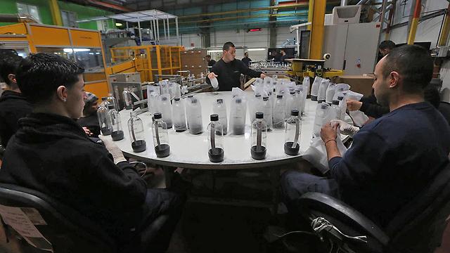 SodaStream factory (Photo: Gil Yochanan)