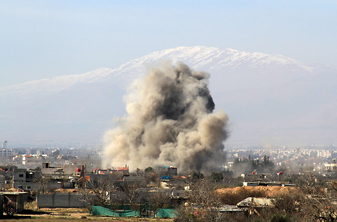 Feirce fighting in Syria is having a huge effect on food supplies. (Photo: AFP)