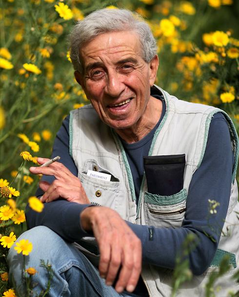 נחום (נחצ'ה) היימן. מגדולי המלחינים בישראל (צילום: אביגיל עוזי) (צילום: אביגיל עוזי)