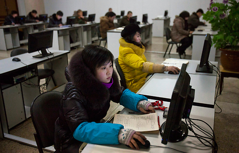 Children accessing the internet in N. Korea. A sign of the future, or just another tool for government propaganda? (Photo: AP)