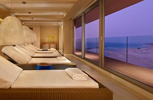 The spa at the Ritz Carlton Herzliya (Photo: Asaf Pinchuk)