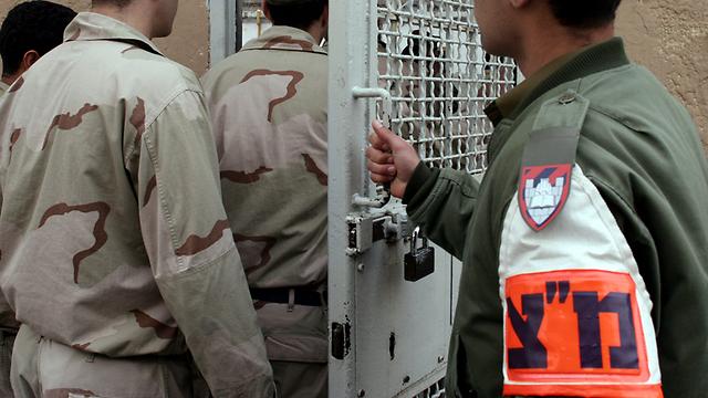 """כלא 4. החייל ימצא עצמו עצור עד תום המשפט (צילום: עמית שאבי, """"ידיעות אחרונות"""") (צילום: עמית שאבי,"""