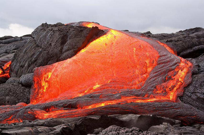 לוע מאיים. הר הגעש קילאוואה  (צילום: shutterstock)