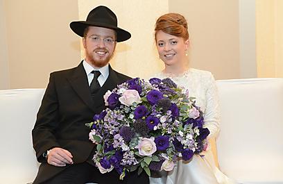 """""""זה היה מורכב מאוד ומתיש, בכל זאת, לארגן חתונה בתוך שבוע!"""" (צילום: דובי גורביץ) (צילום: דובי גורביץ)"""