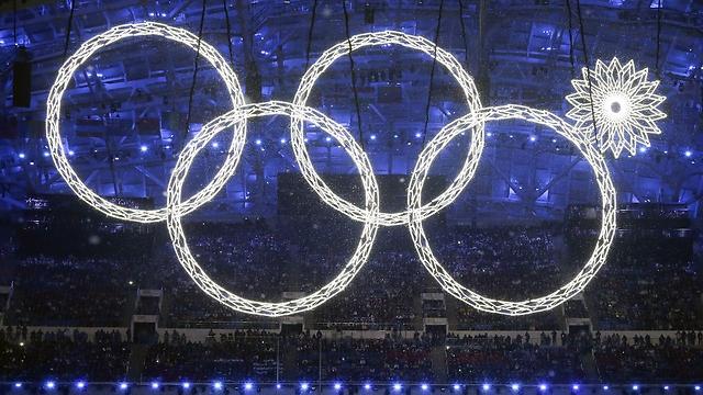 טקס הפתיחה של אולימפיאדת החורף בסוצ'י (צילום: AP) (צילום: AP)