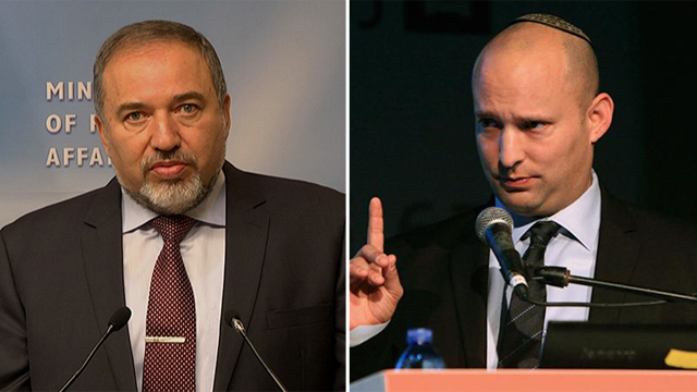 Lieberman and Bennet - demanding controversial legislation (Photo: Anar Green, Eli Mendelbaum)