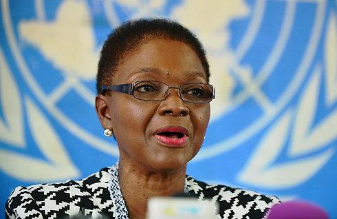 UN humanitarian chief Valerie Amos (Photo: AFP) (Photo: AFP)