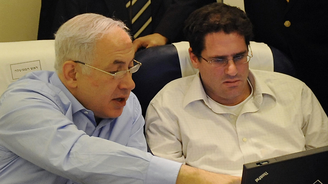 PM Netanyahu (L) and Israel's Amb. to the US Ron Dermer (Photo: GPO)