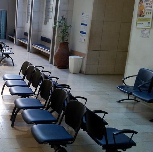 הכיסא הריק. חדר המיון בבית החולים הדסה עין כרם השבוע (צילום: נועם (דבול) דביר) (צילום: נועם (דבול) דביר)