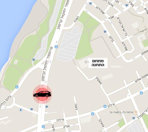 מפה של זירת הרצח (צילום: Google Maps) (צילום: Google Maps)