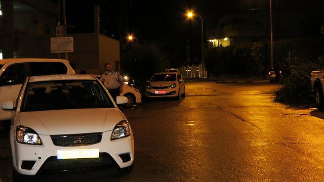 עוד זירת ירי בטירה. אלימות בלתי פוסקת  (צילום: חסן שעלאן) (צילום: חסן שעלאן)
