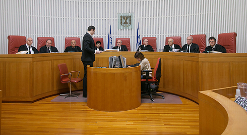 High Court justices (Photo: Ohad Zwigenberg) (Photo: Ohad Zwigenberg)