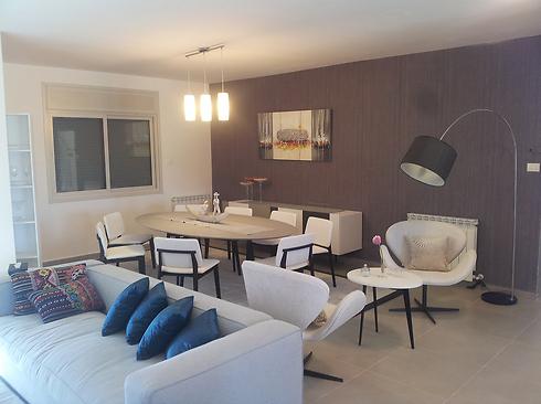 Model apartment in Rawabi