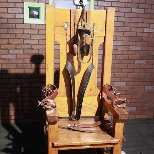 """""""הרע במיעוטו"""". כיסא חשמלי (צילום: AFP) (צילום: AFP)"""