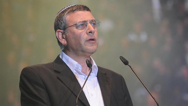 הרב לאו: אלחם בבית היהודי נגד הכנסת ממשיכי כהנא (צילום: ירון ברנר) (צילום: ירון ברנר)