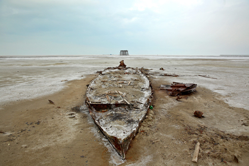 Lakes in other parts of Iran are facing a similar crisis, though not as severe as at Oroumieh (Photo: AP) (Photo: AP)