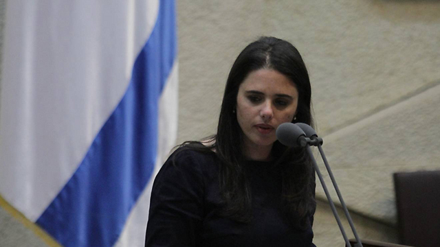 MK Shaked (Photo: Gil Yochanan) (Photo: Gil Yohanan)
