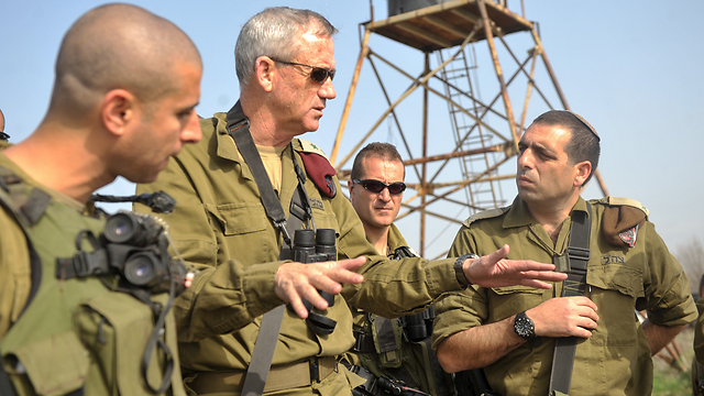 IDF Chief of Staff Benny Gantz (Photo: IDF Spokesperson Unit)