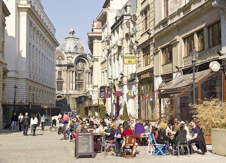 בוקרשט, רומניה (צילום: shutterstock)