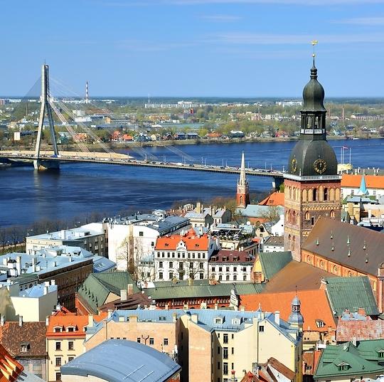 ריגה, לטביה (צילום: shutterstock)