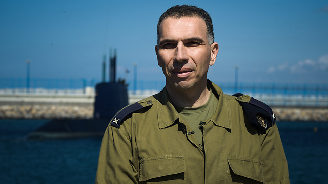 Brig.-Gen. Eli Sharvit, the next Navy chief (Photo: IDF Spokesman)