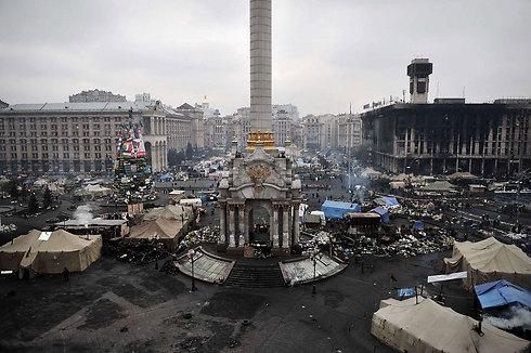 קייב, היום (צילום: AFP) (צילום: AFP)