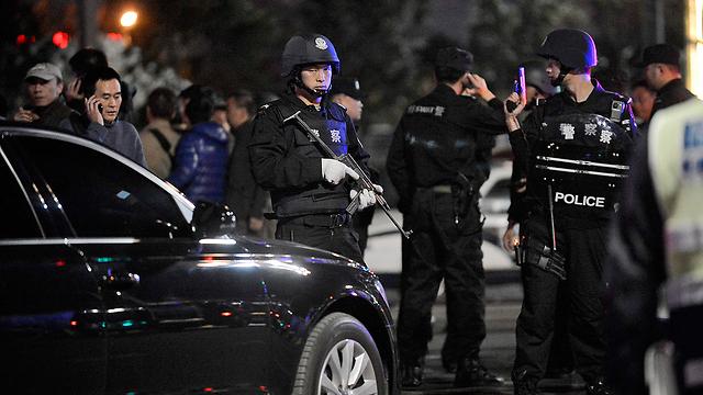 אחרי פיגוע הסכינים בתחילת חודש מרס (צילום: AP) (צילום: AP)