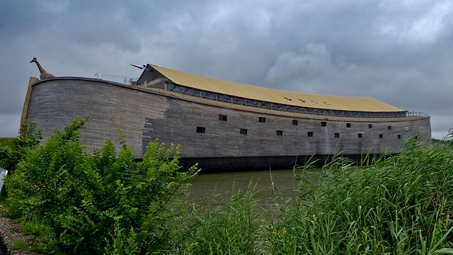 This full-size replica of Noah's Ark, built by Johan Huibers (Photo: EPA)