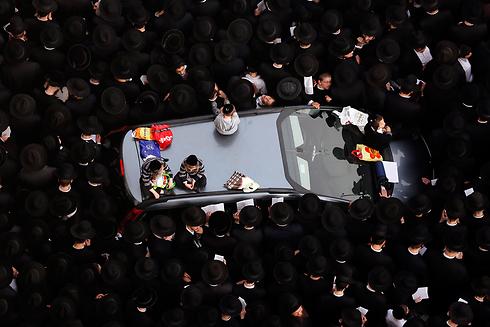 Haredi protest in Jerusalem (Photo: Reuters) (Photo: Reuters)