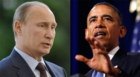 לא נוהגים להכניס ראש מדינה לסנקציות. פוטין ואובמה (צילום: AFP, רויטרס) (צילום: AFP, רויטרס)