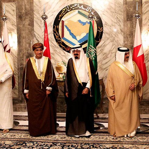 מנהיגי המפרץ. משבר דיפלומטי חמור (צילום: AP) (צילום: AP)