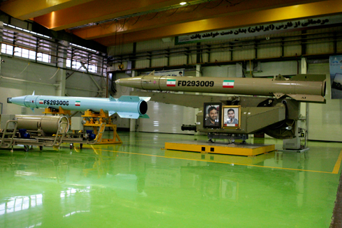 Iranian Fateh-110 rocket (Photo: AP) (Photo: AP)