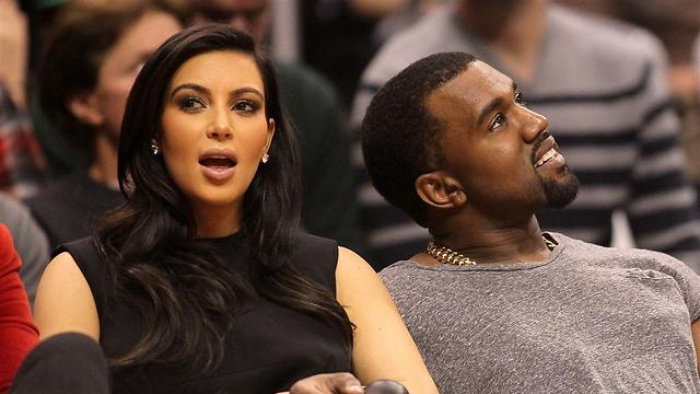 Kim and Kanye. Next month in Israel? (Photo: Gettyimages)