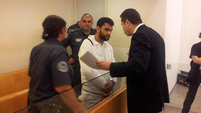 """החשוד מוחמד ג'ראחי (צילום: אחיה ראב""""ד) (צילום: אחיה ראב"""