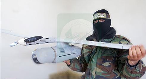 Archive photo: A Skylark drone seized by Hamas