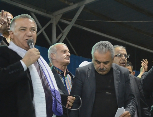Nazareth's new mayor, Ali Salam (Photo: Mohammed Shinawi)