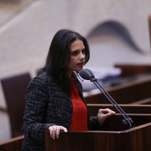 MK Ayelet Shaked leads initiative to bypass High Court (Photo: Alex Kolomoisky) (Photo: Alex Kolomoisky)