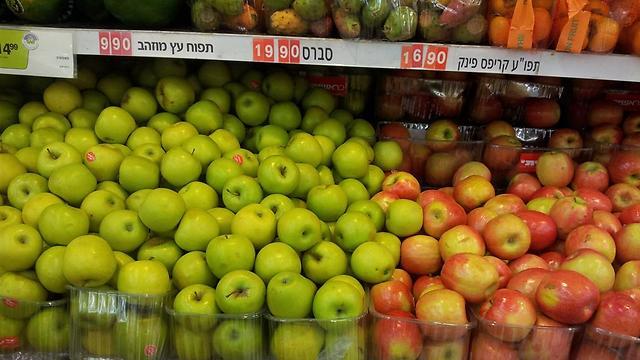מגה. הייבוא לא הוזיל את תפוחי פינק קריפס ()